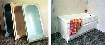 Реставрируем ванну